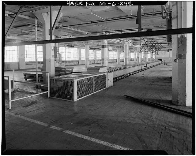 Dodge Hamtramck Plant Warehouse Building Interior Photos